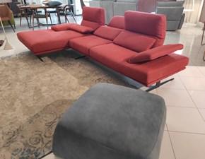 Divano relax in Ecopelle Franco ferri a prezzo ribassato
