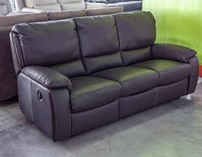 Divano In Pelle Con Relax.Outlet Divani Relax
