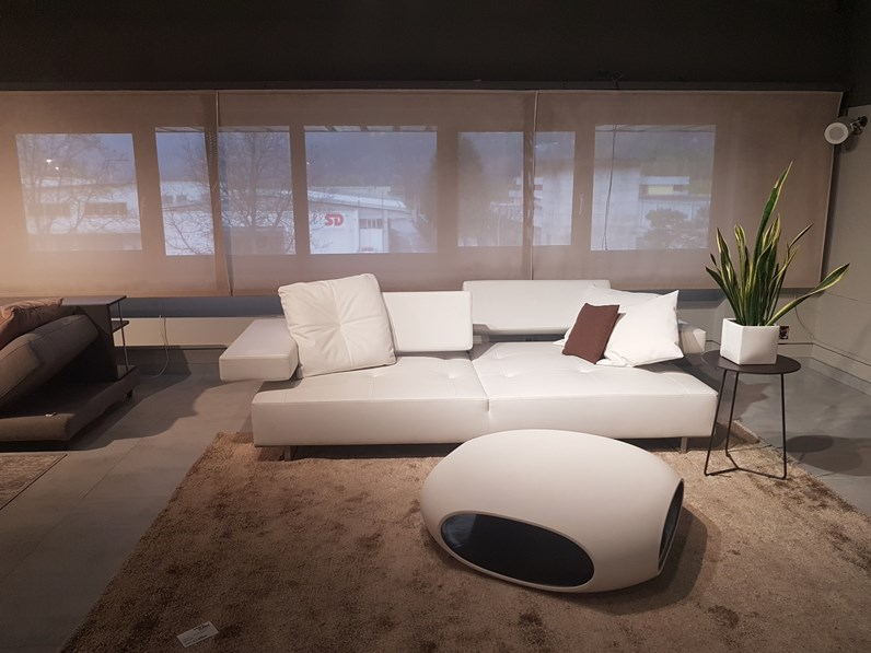 Divano relax in pelle loft di arketipo for Il loft arredamenti