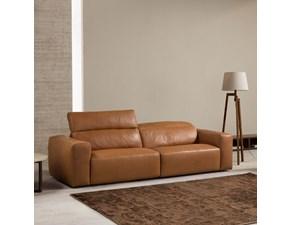 Divano relax in stile Design Con movimento relax a prezzi outlet