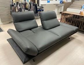 Divano relax in stile Design Con seduta fissa con forte sconto