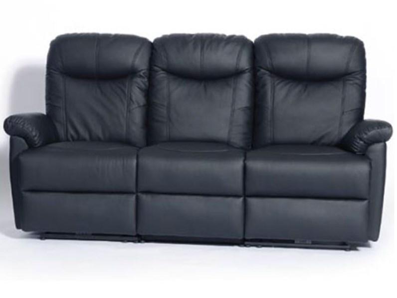 Divano relax Mottes mobili okland divano a 3 posti Artigianale sconto del  40%