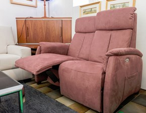 Divano relax tessuto in poliuretano  Spazio relax a prezzo scontato