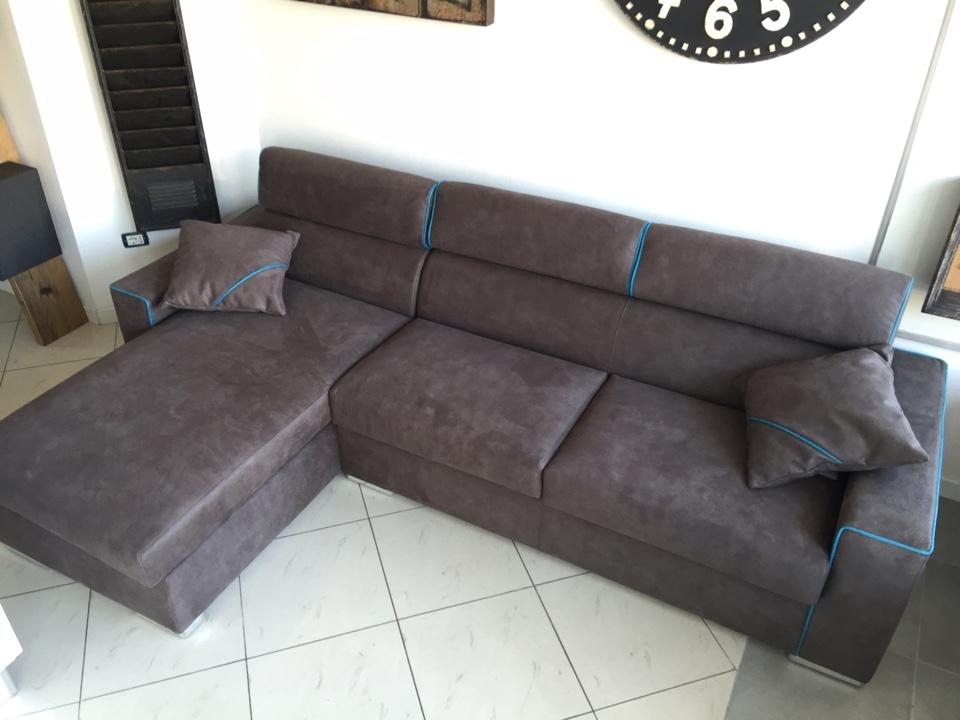 Divano rizzetto salotti con penisola divani a prezzi - Divano angolare prezzo basso ...