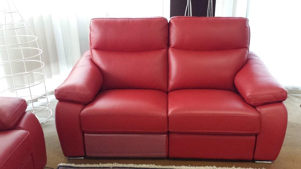 Divano in pelle di rosini salotti sulmona divani relax - Divano relax prezzi ...