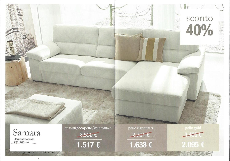 Divano samara nuovo divani a prezzi scontati for Nuovo arredo camerette prezzi