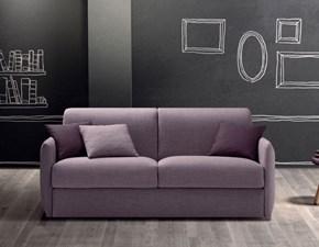 Divano Samoa modello Comfy. Divano in tessuto categoria A completamente sfoderabile trasformabile in letto.