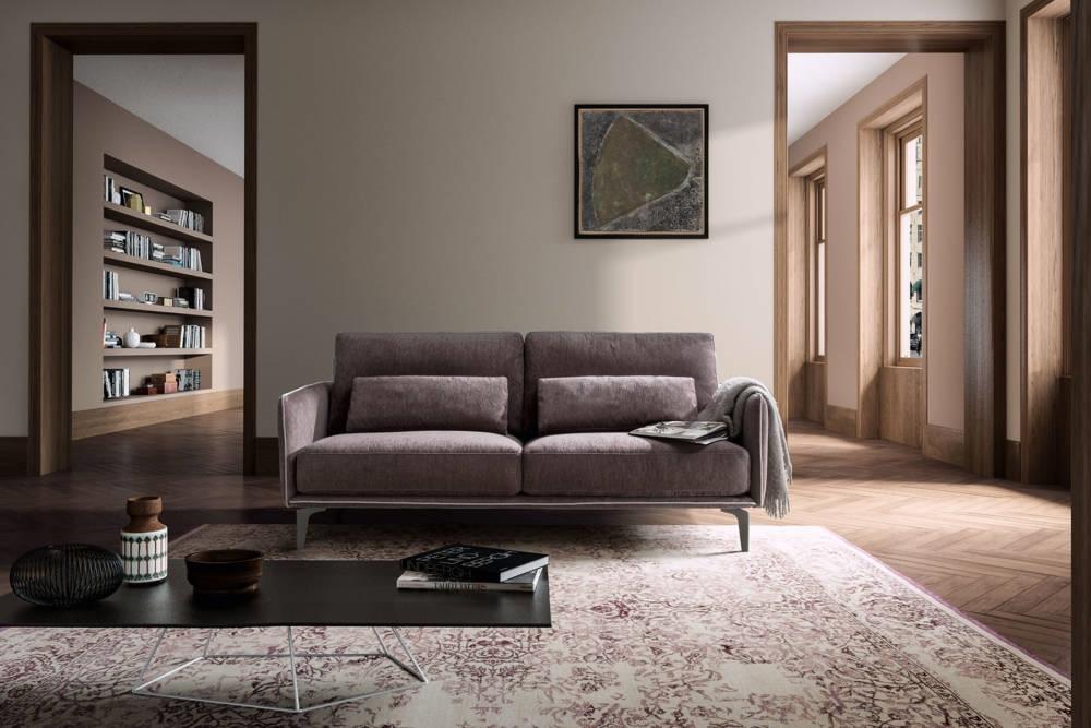 Divano samoa modello living minimal divani a prezzi scontati for Living divani prezzi