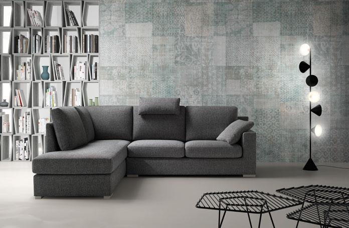 divano con penisola modello young di samoa divani a