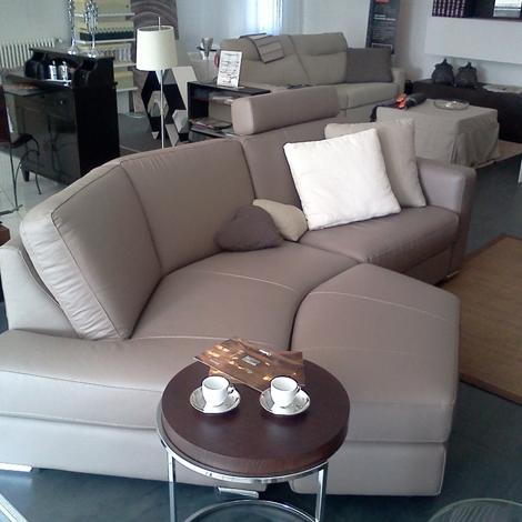 Divano semi angolare pelle divani a prezzi scontati - Doimo sofas prezzi ...
