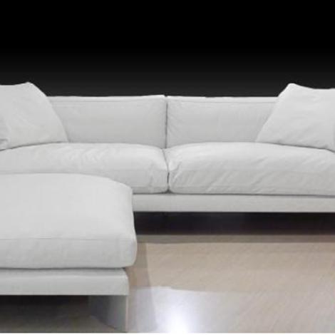 Divano soft bench pelle bianco divani a prezzi scontati - Divano pelle bianco ...
