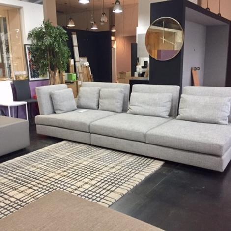 Divano swan hemingway divani lineari tessuto divano 4 - Tessuto rivestimento divano ...