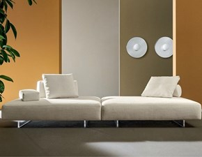 Divano tessuto in poliuretano  Twils lounge  in Offerta Outlet