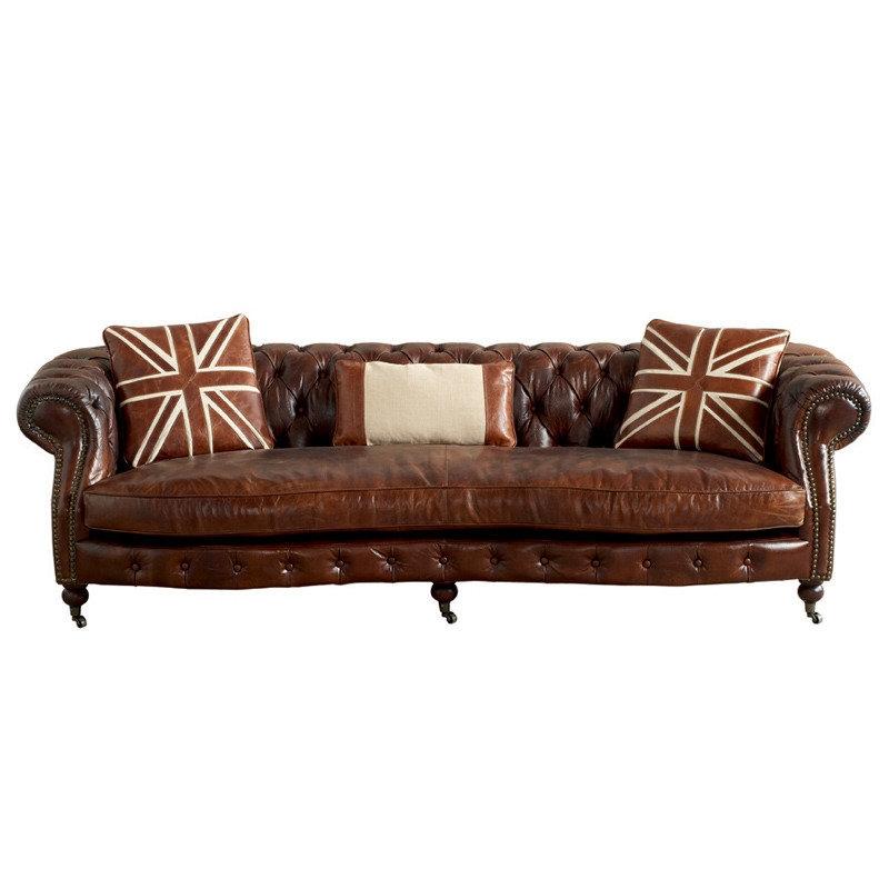 Divano tipo chester pelle divani a prezzi scontati for Prezzi divani baxter