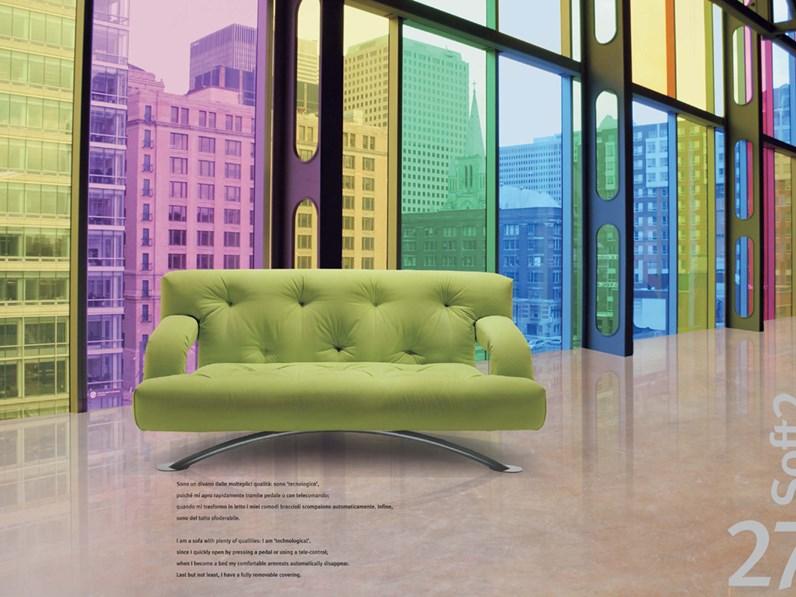 Divano futura soft 2 tessuto for Dimensione casa arredamenti
