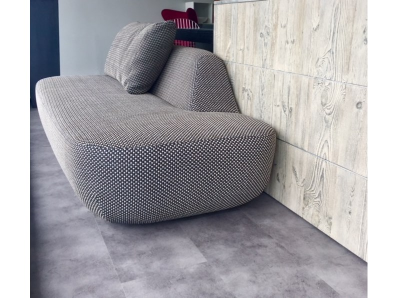 Divano Uptown - tridimensionale - ignifugo Paola lenti in Offerta Outlet