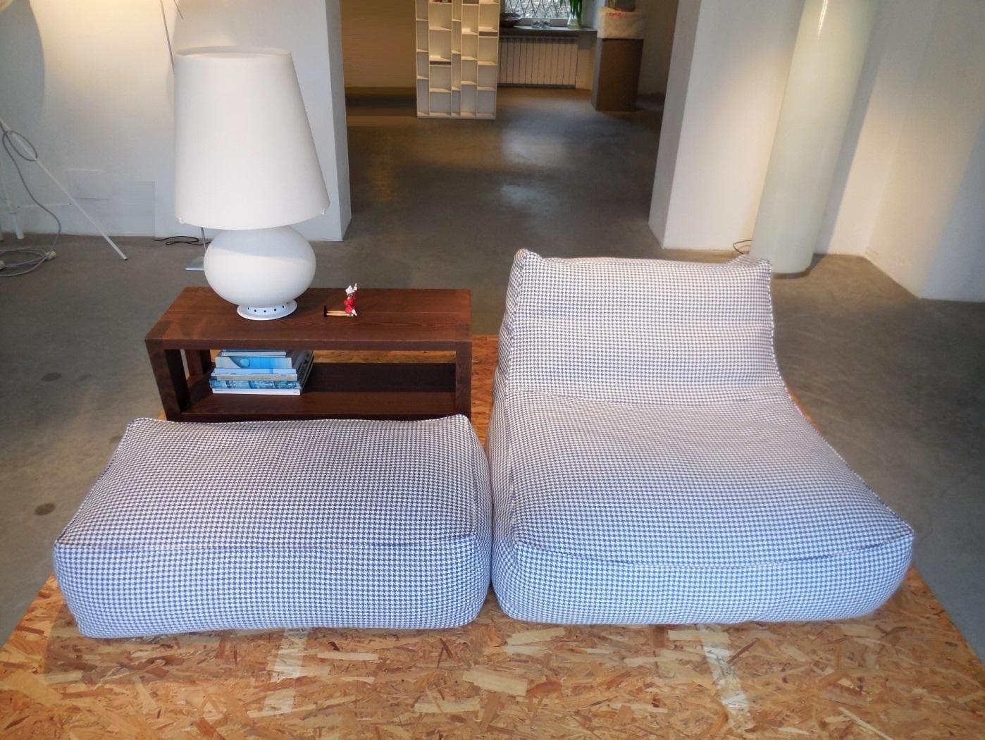 Divano verzelloni poltrona e pouff zoe verzelloni design for Divani e divani poltrone relax prezzi