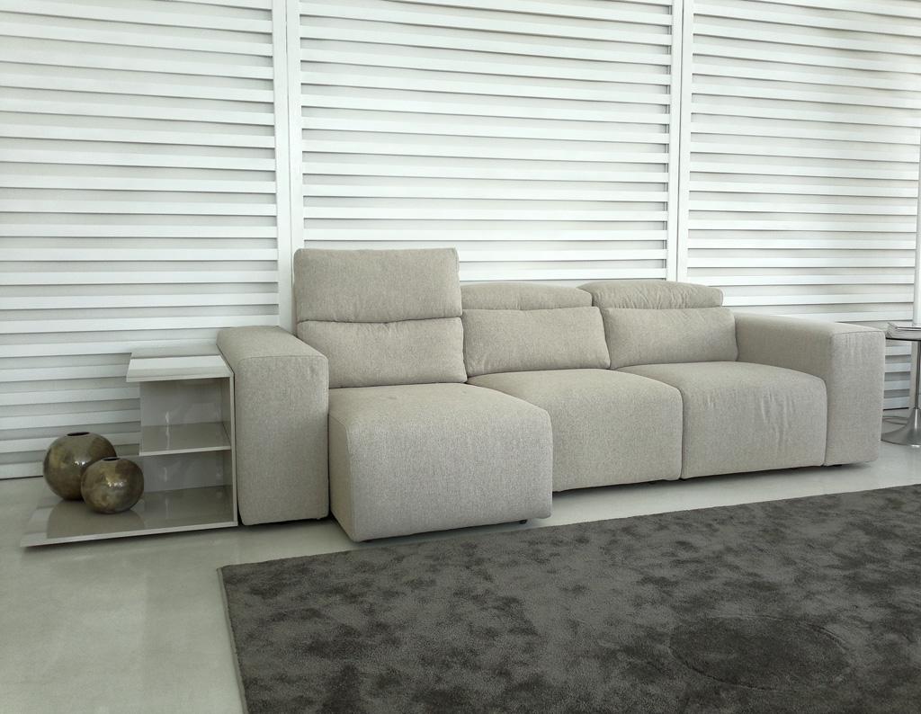 divano tommy con sedute allungabili e recliner - divani a prezzi ... - Divani Con Seduta Allungabile