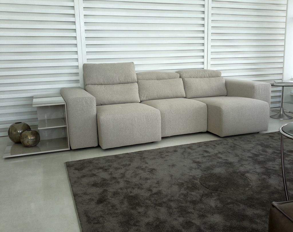 Divano tommy con sedute allungabili e recliner divani a prezzi scontati - Divano con seduta allungabile ...