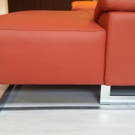 Egoitaliano divano in pelle scontato del 50 divani a - Pelle del divano rovinata ...