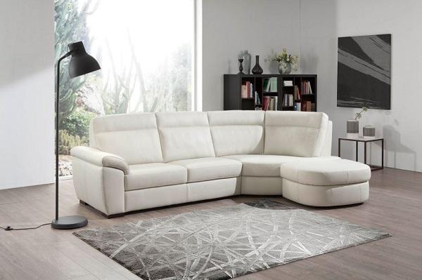Egoitaliano divano ivonne in pelle scontato del 50 for I migliori divani