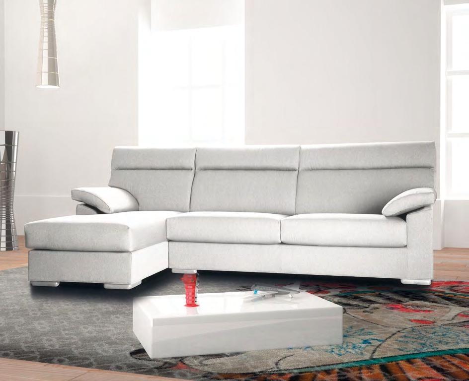 Errebi divano jazz divani con chaise longue tessuto divano - Divano due posti con chaise longue ...