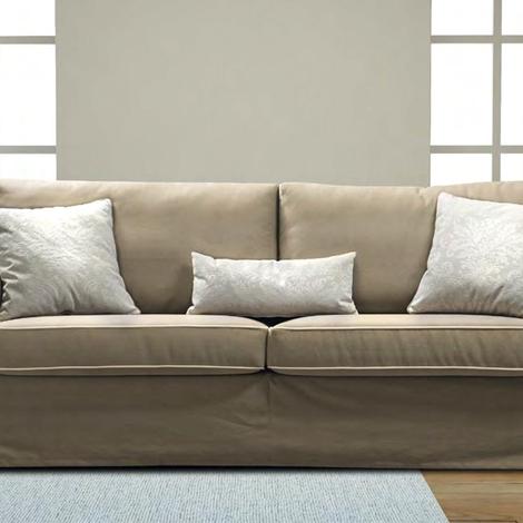 Errebi divano vintage divani con chaise longue tessuto - Divano due posti con chaise longue ...
