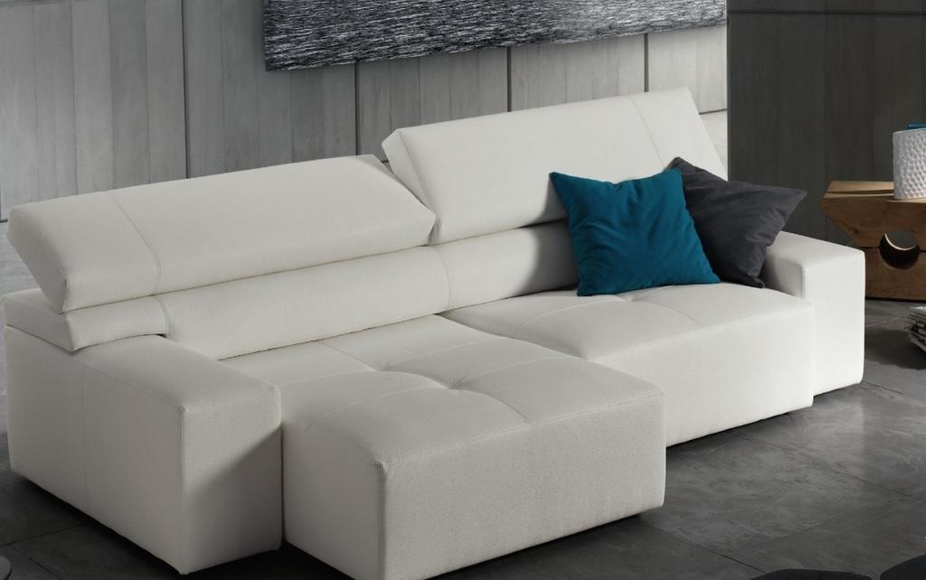 Divano gigolo 39 in ecopelle colore a scelta divani a - Divano con seduta estraibile ...
