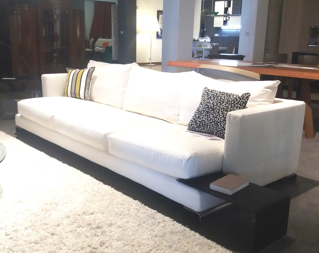 Flexform divano divano long island tessuto divani a for Rivestimento divani flexform