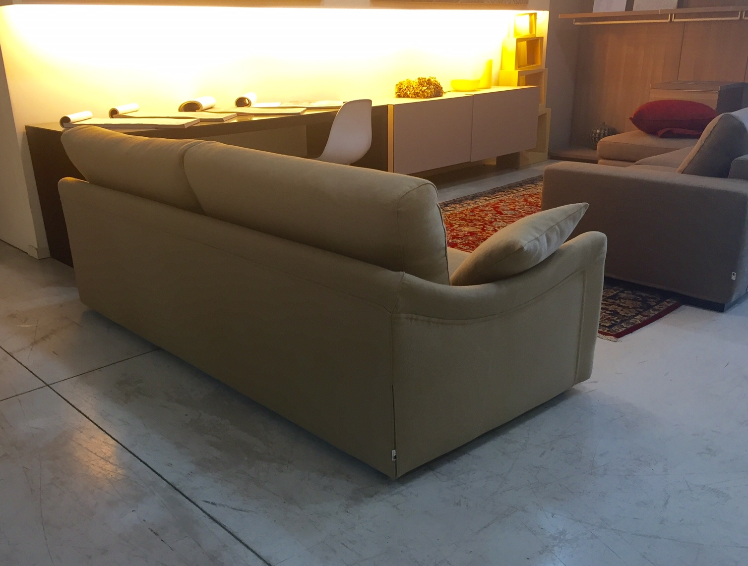 Fox italia divano bells divani lineari tessuto divano 3 - Divano 3 posti divano 2 posti ...