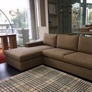 Fox Italia Divano Infinity -  Divani con chaise longue  4 posti sfoderabile ed imbottitura in poliuretano a portata differenziata e piuma, made in Italy High Quality,