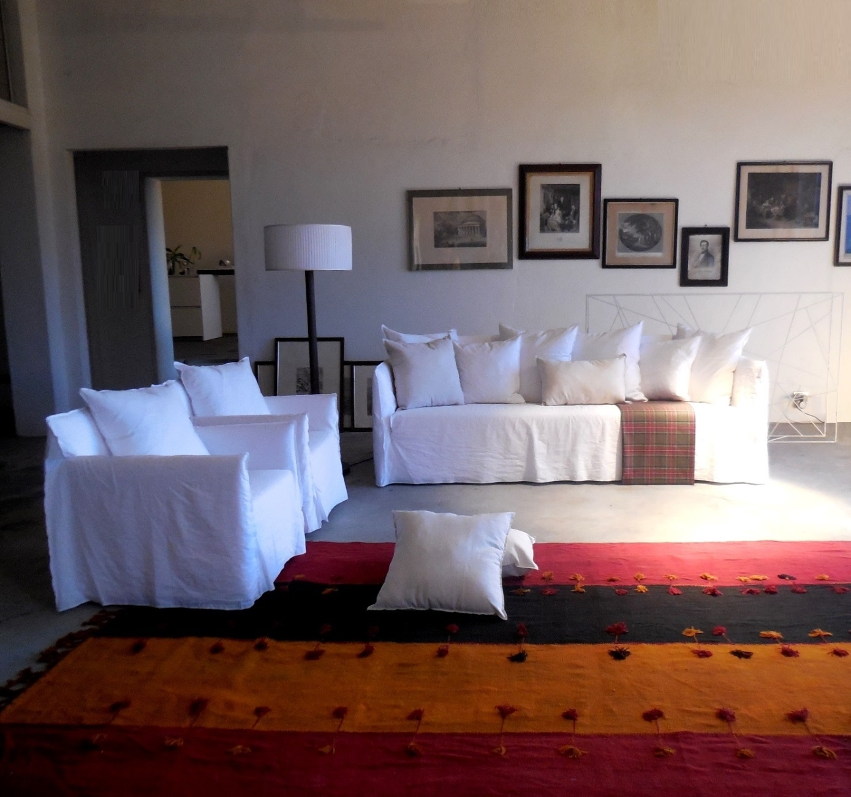 Gervasoni divano ghost divano e due poltrone design p - Gervasoni divano letto ...