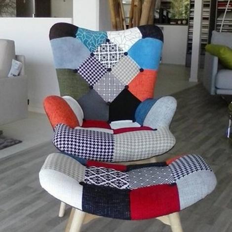 La seggiola divano sweet home poltrone relax tessuto for Divano letto 1 posto