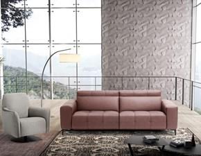 Divano lineare con movimento relax Tiffany di Egoitaliano sconto del 55%