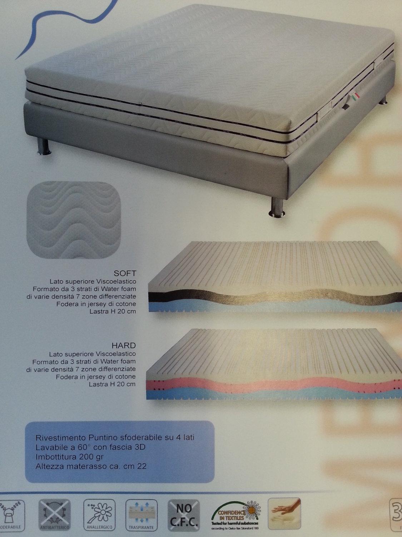 Materasso memory 22cm 430 euro - Divani a prezzi scontati