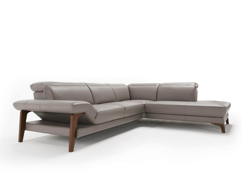 Meriem divano in pelle angolare schienali reclinabili for Divano in pelle prezzi