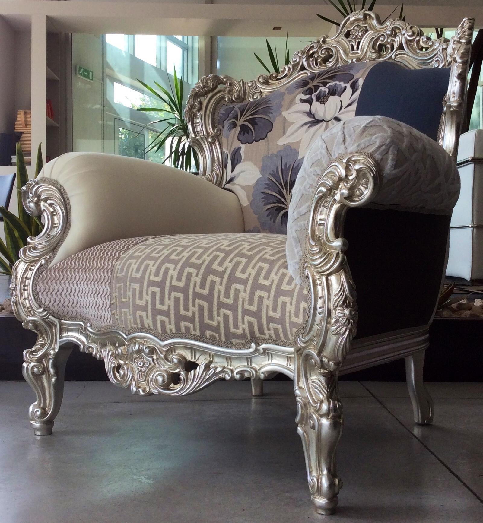 Mod divano prince poltrona patchwork scontato del 40 for Divano poltrona