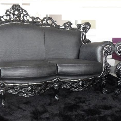 Offerta divano con poltrona stile Barocco - Divani a prezzi scontati