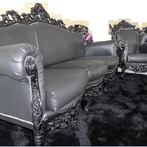 Offerta divano con poltrona stile barocco divani a - Divano stile barocco usato ...