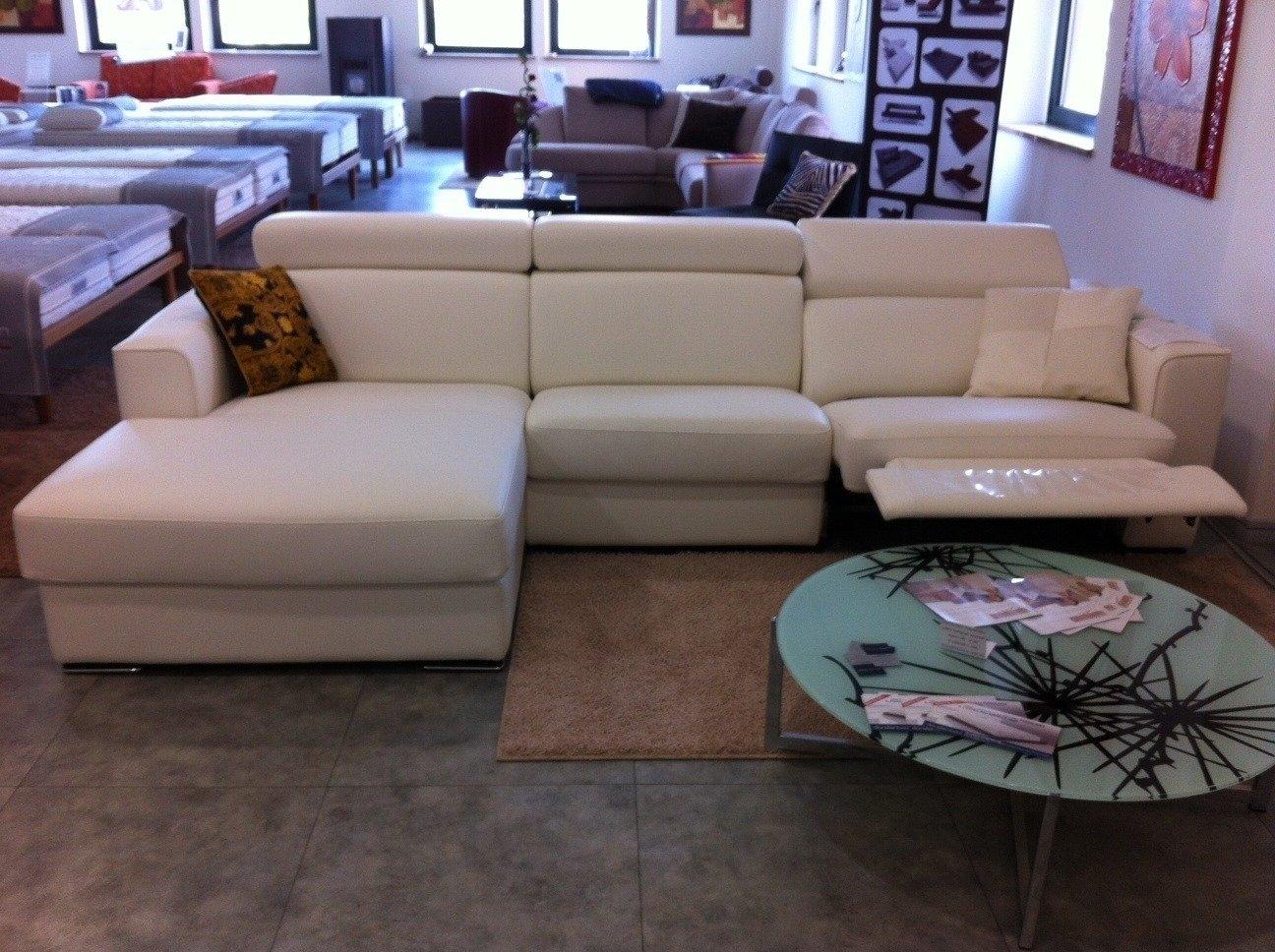 Offerta divano in pelle relax 3291 divani a prezzi scontati - Divani angolari in offerta ...