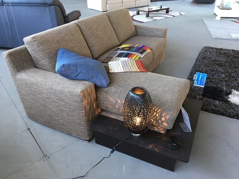 Divani Componibili Offerte.Offerta Divano Samoa Mod Joy Componibile Con Penisola Reversibile Misura 235x165cm