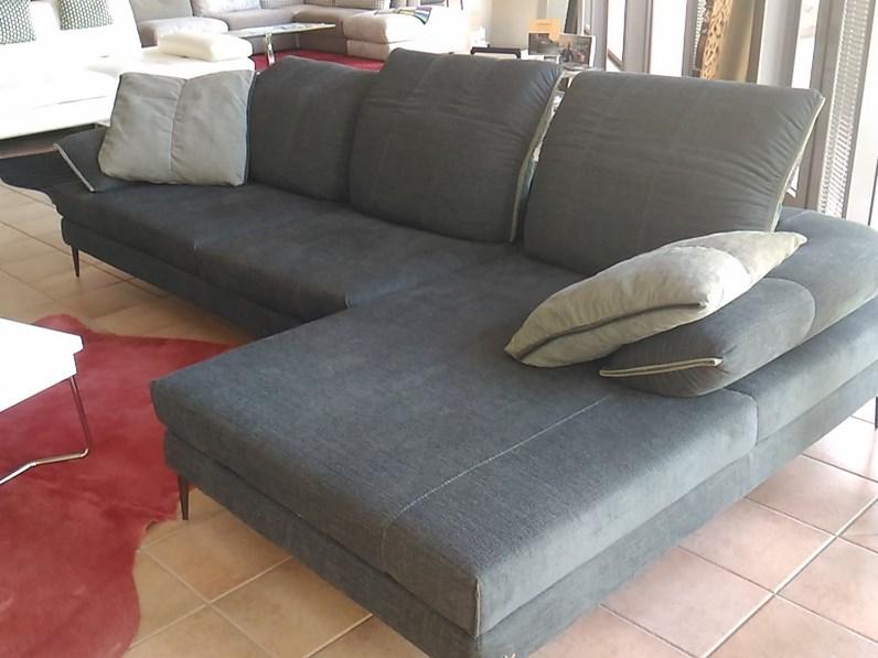 offerta promo divano wing nicoletti home tessuto sconto 51