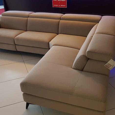 Outlet divano francoferri lissoni con recliner elettrico e - Outlet del divano ...
