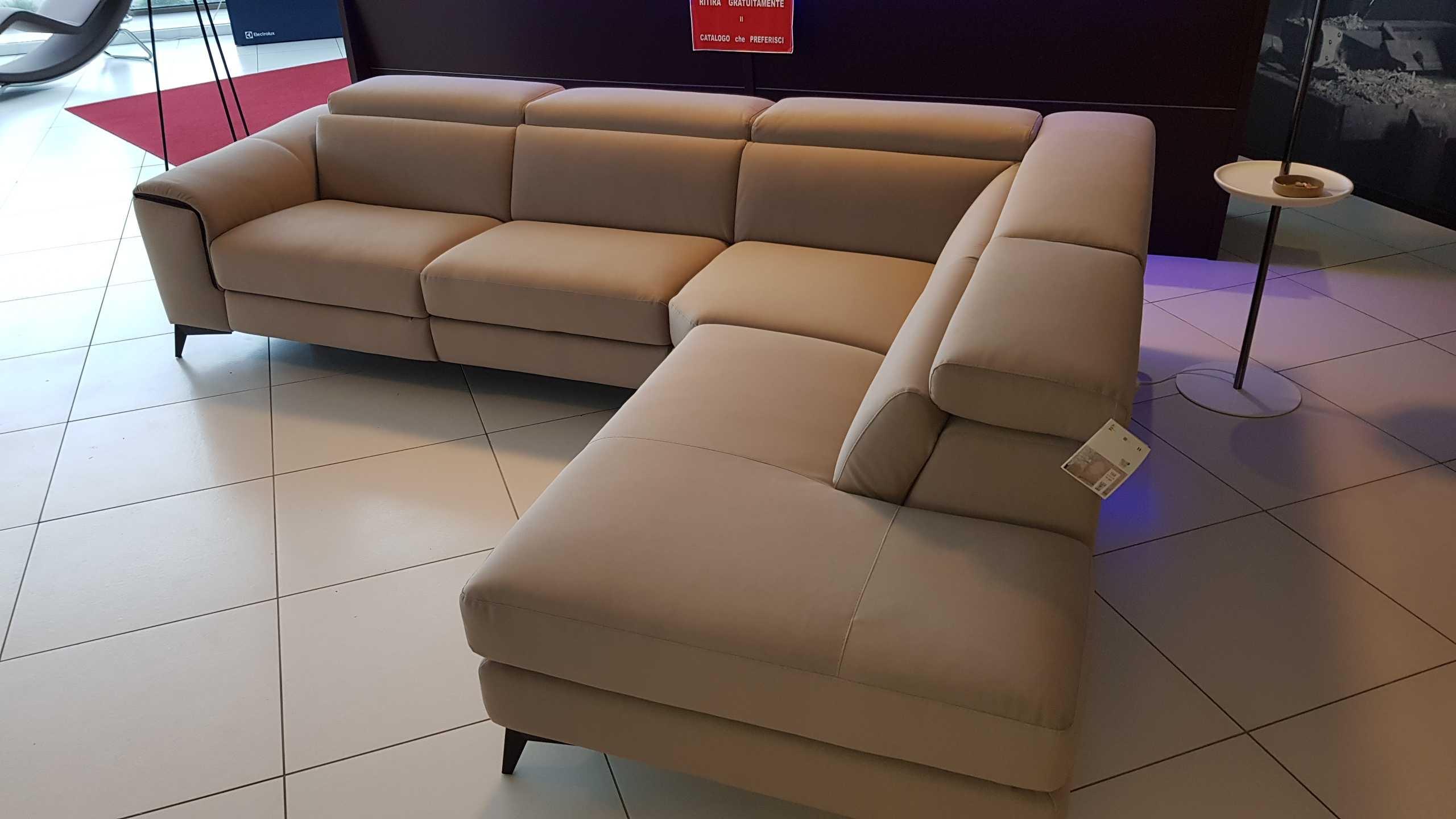 Outlet divano francoferri lissoni con recliner elettrico e for Outlet del divano