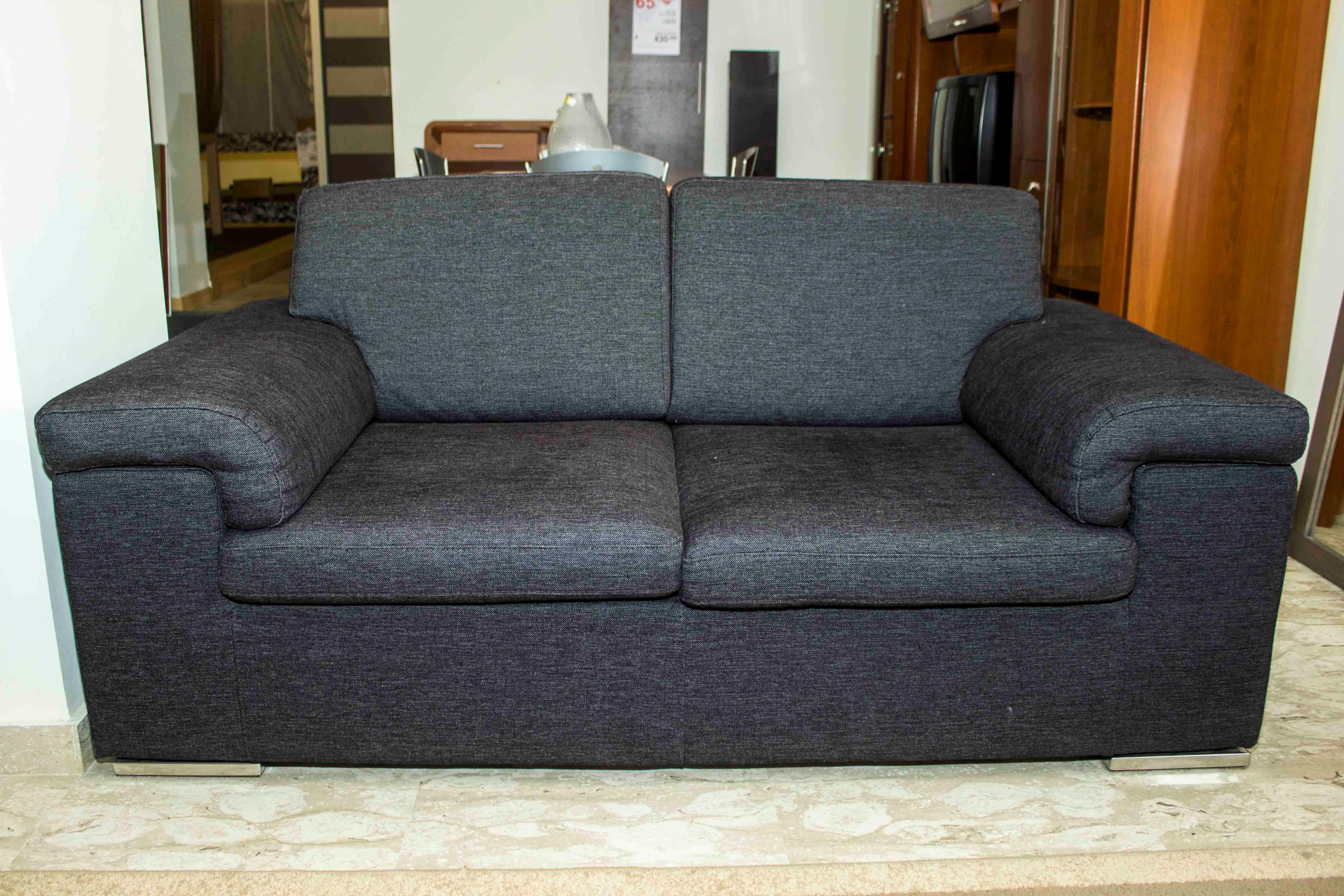 Pandolfi divano due posti scontato del 61 divani a - Divano due posti economico ...