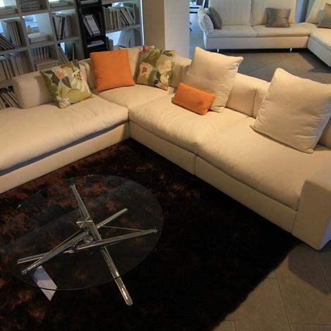 Poliform salotto dune divani a prezzi scontati - Rivestimento divano costo ...