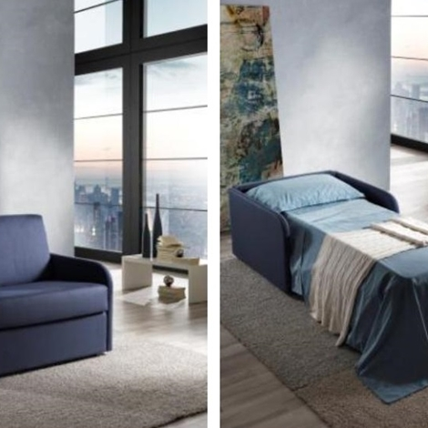 Poltrona a letto estraibile un posto divani a prezzi scontati - Posto letto parma ...