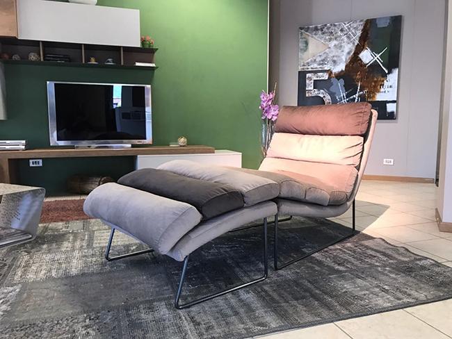 Poltrona design mollis rigo salotti in offerta divani a for Poltrona design prezzi bassi