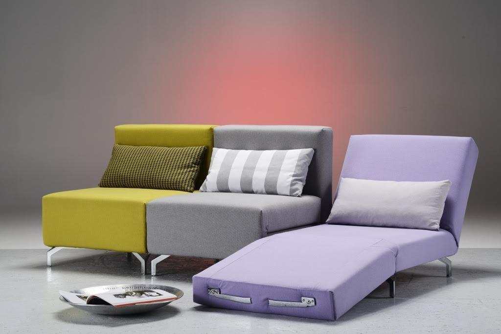 Poltrona letto family bedding modello voil divani a for Divano letto dimensioni ridotte