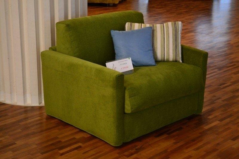 Poltrona letto in offerta 10398 divani a prezzi scontati for Pouf letto conforama